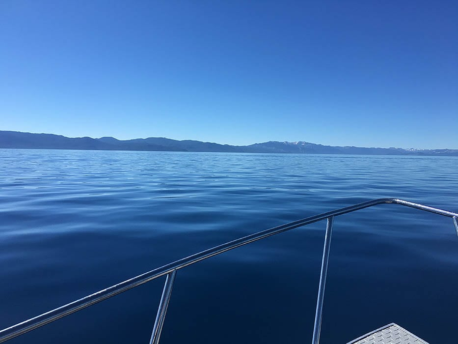 Heading to the fishing grounds with Captain Joby and crew