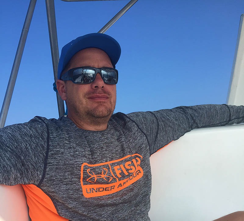 Captain Joby Cefalu, owner and operator of Mile High Fishing Charters